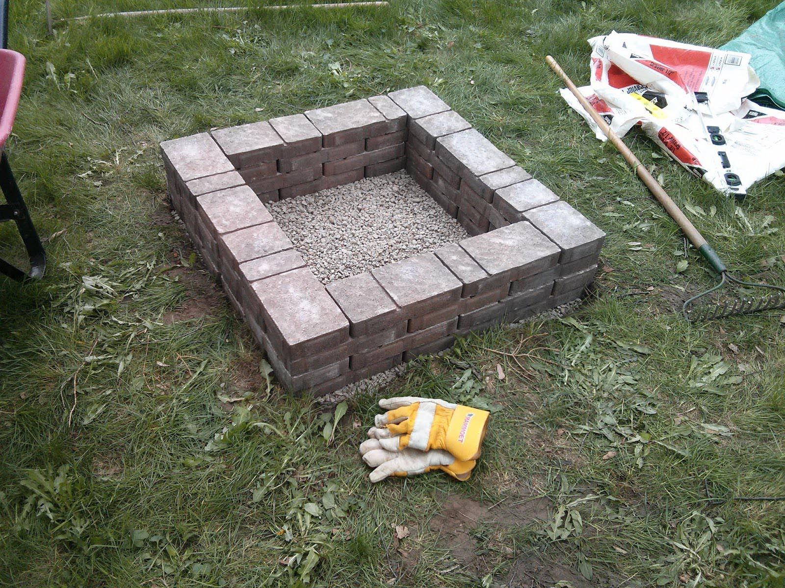 Make Inground Fire Pit