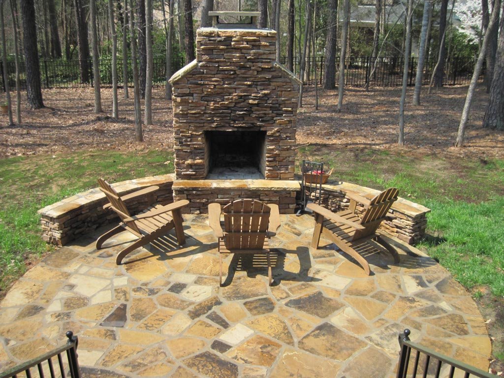 Metal Fire Pit With Chimney : Fire Pit Outdoor Fireplace