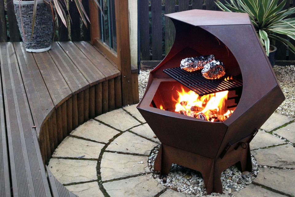 Outdoor Cooking Fire Pit
