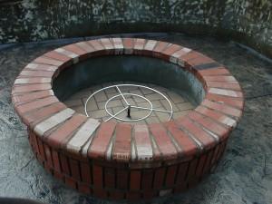 Outdoor Fire Pit Designs Brick