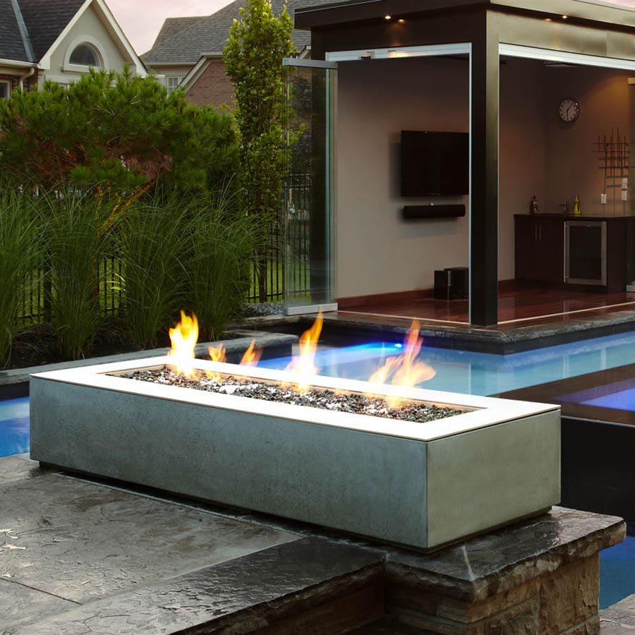 Outdoor gas fire pit designs fire pit design ideas for Outdoor modern fire pit