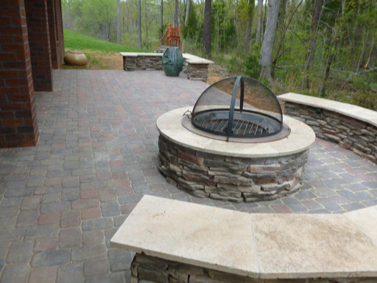 Patio Chimney Fire Pit