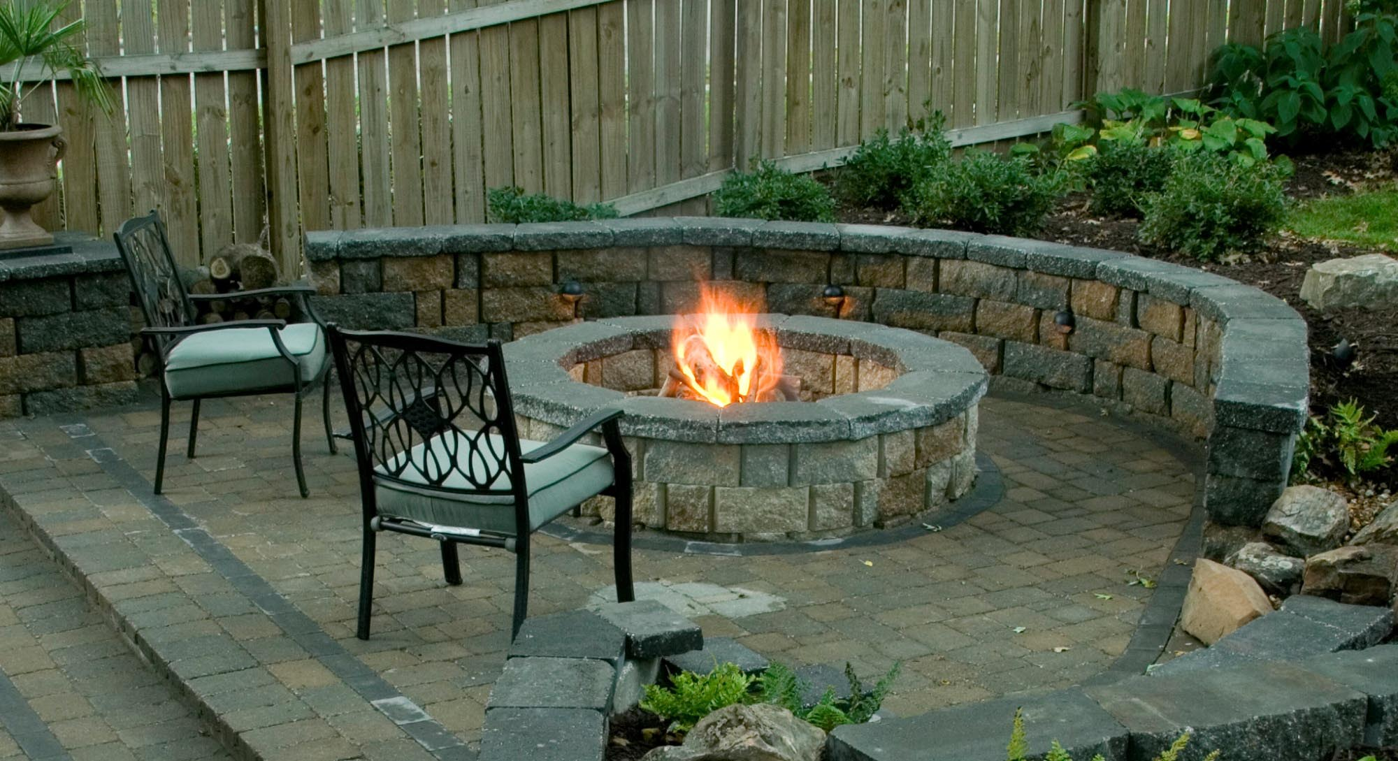 patio designs with fire pit - Patio Design Ideas With Fire Pits