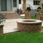 Paver Patio Fire Pit Ideas