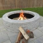 Paver Stone Fire Pit