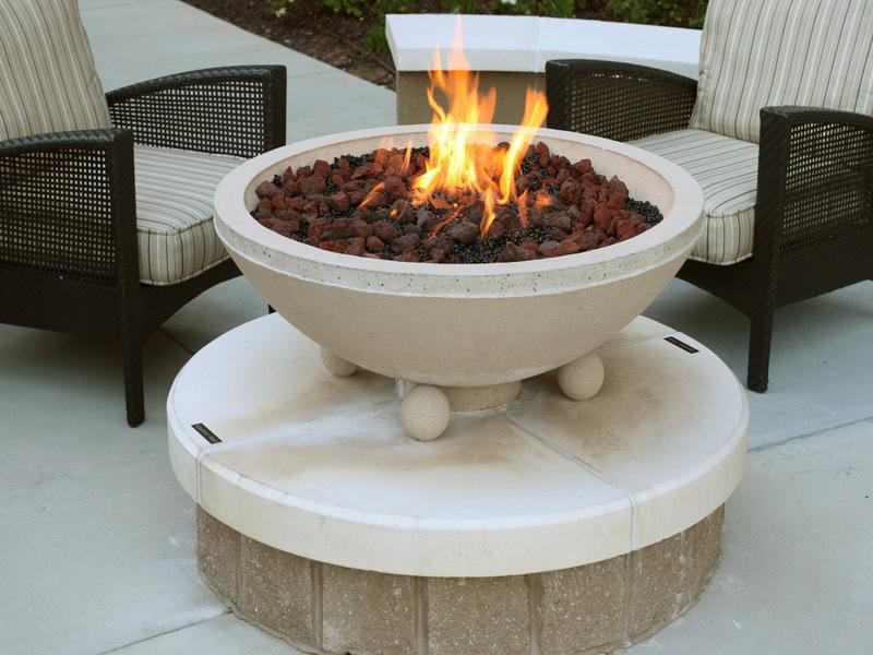 Portable Stone Fire Pit : Portable outdoor fire pit voice from the past