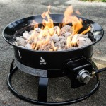 Portable Outdoor LP Fire Pit