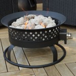 Portable Stone Fire Pit
