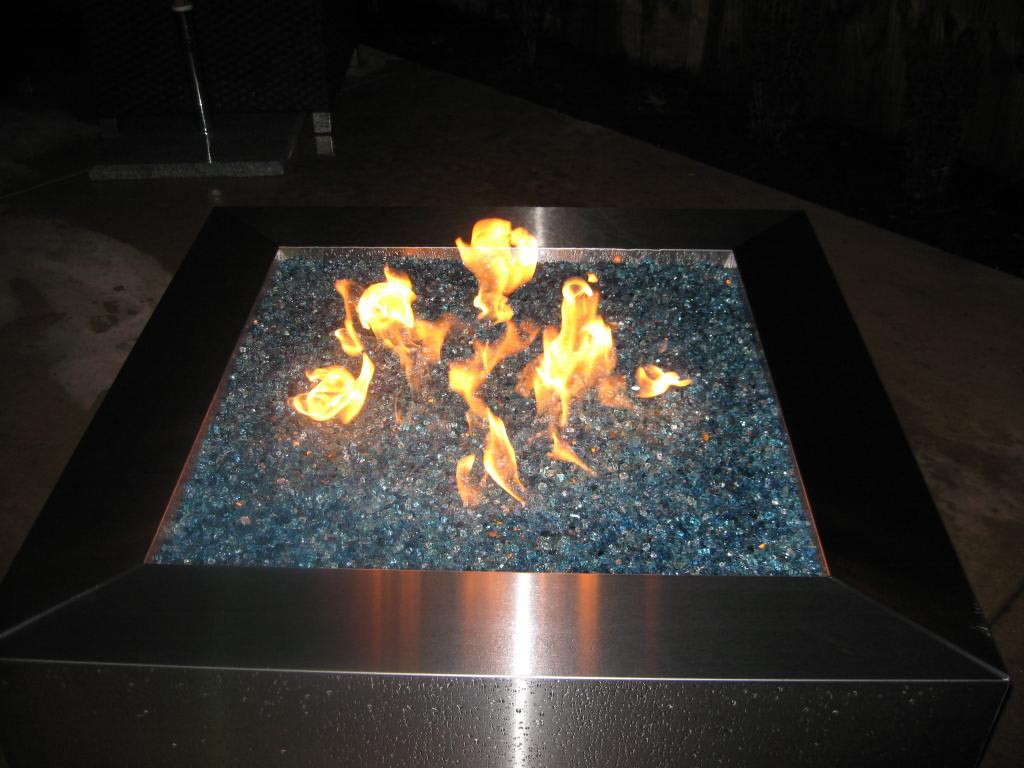 Propane Fire Pit Glass Rocks