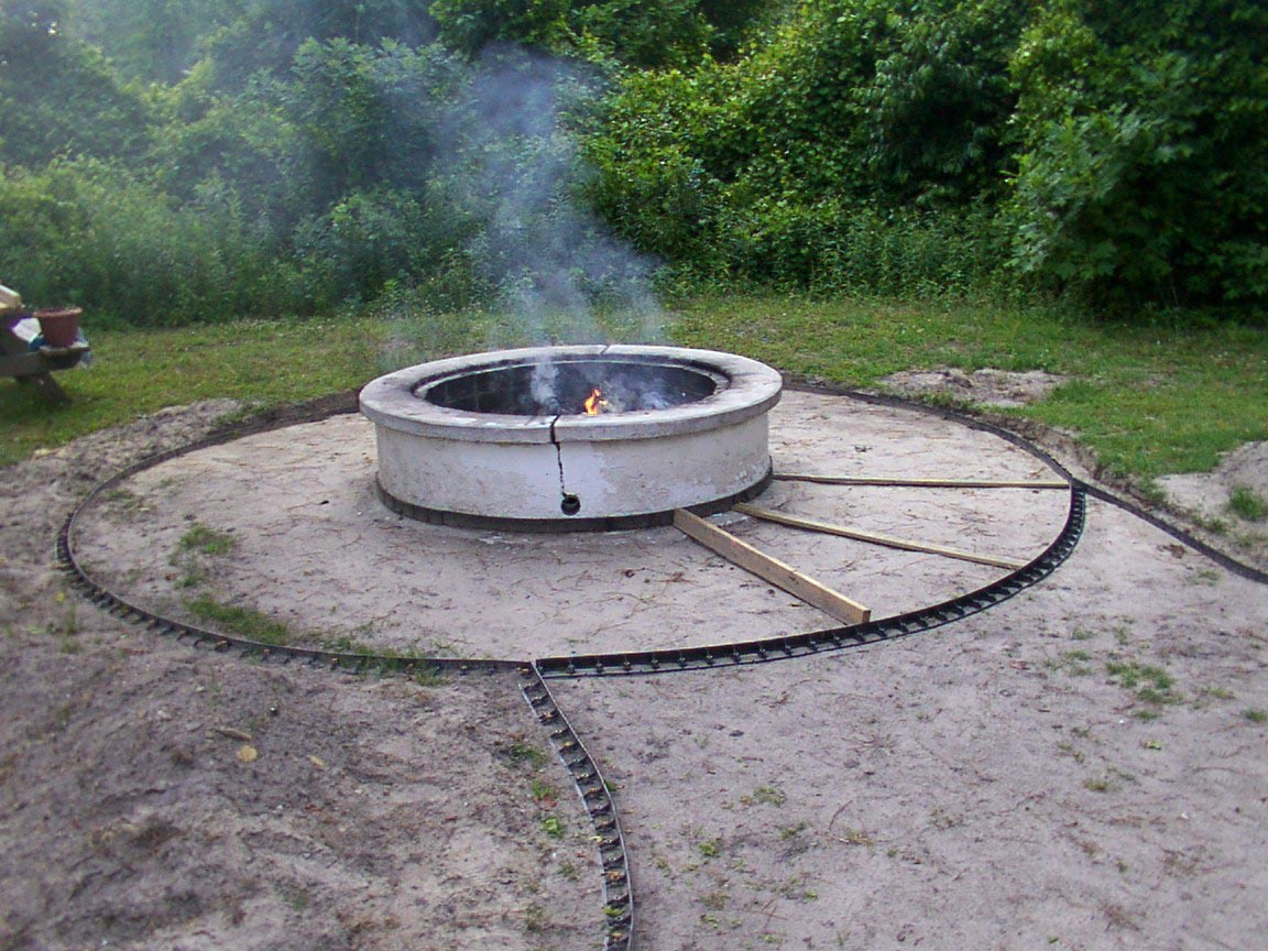 round concrete fire pit fire pit design ideas