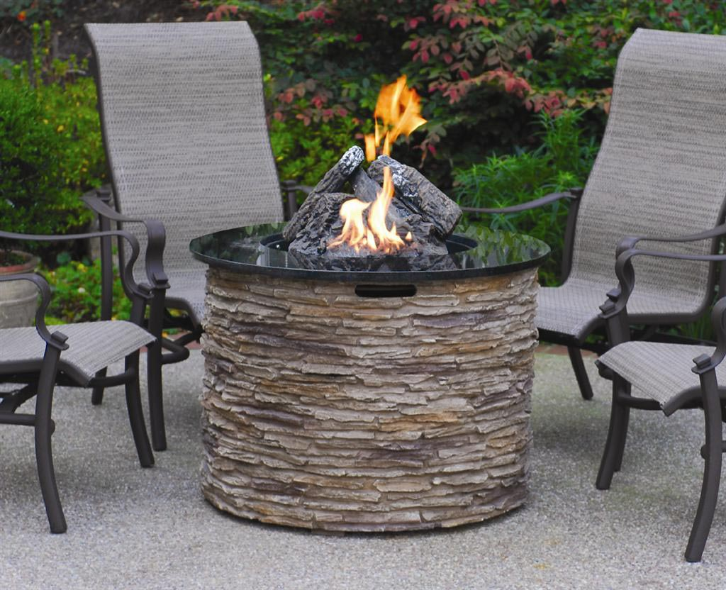 Small outdoor propane fire pit fire pit design ideas for Small backyard fire pit ideas