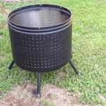 Steel Barrel Fire Pit