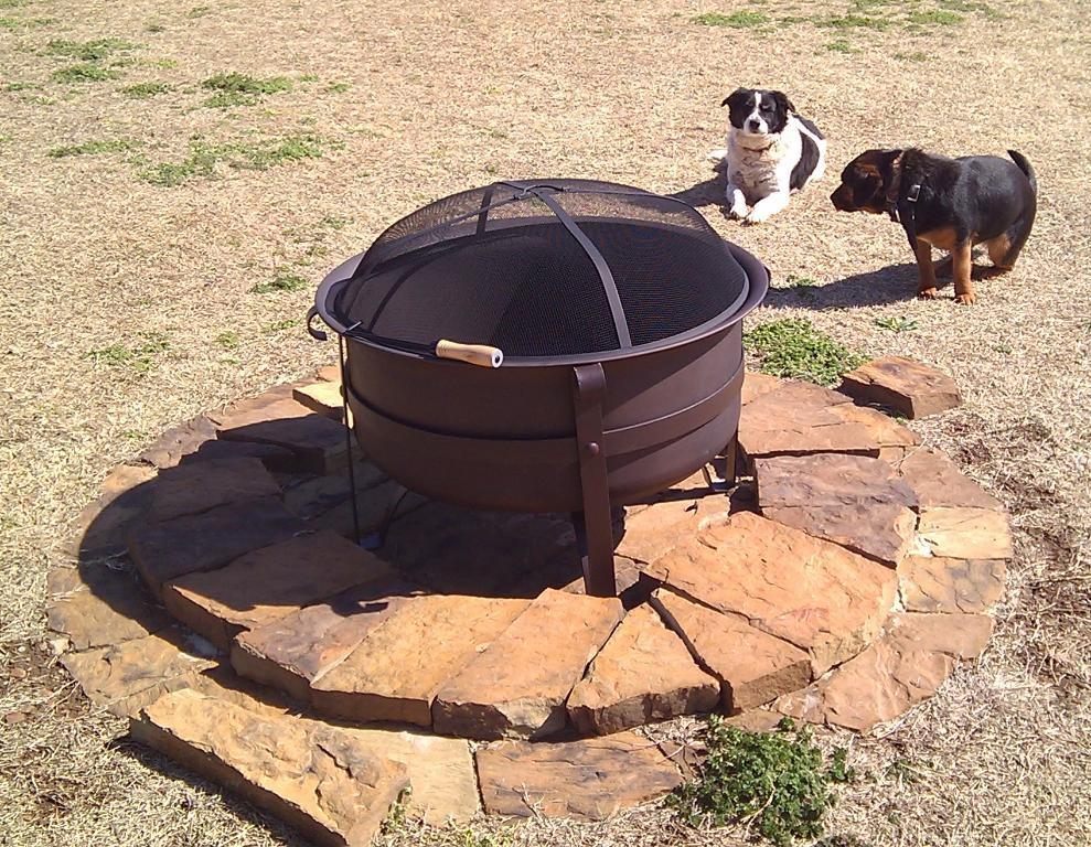 Steel Cauldron Fire Pit