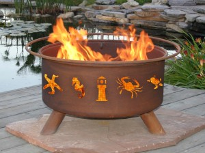 Steel Fire Pit Designs