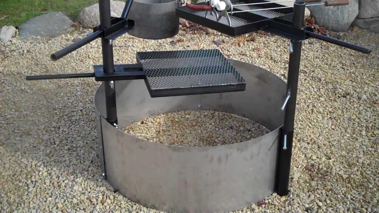 Steel Fire Pit Insert