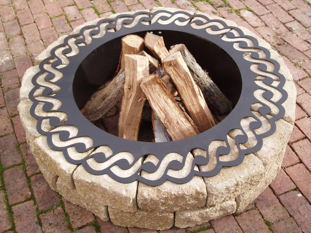 Steel Fire Pit Liner