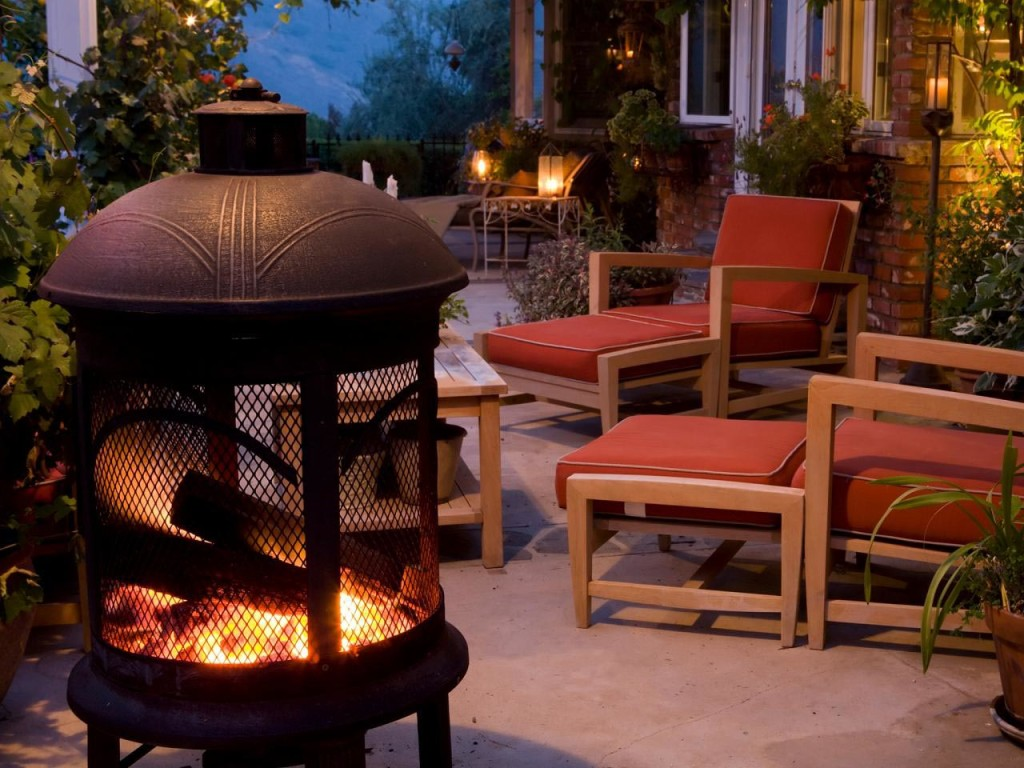 Steel Outdoor Fire Pit
