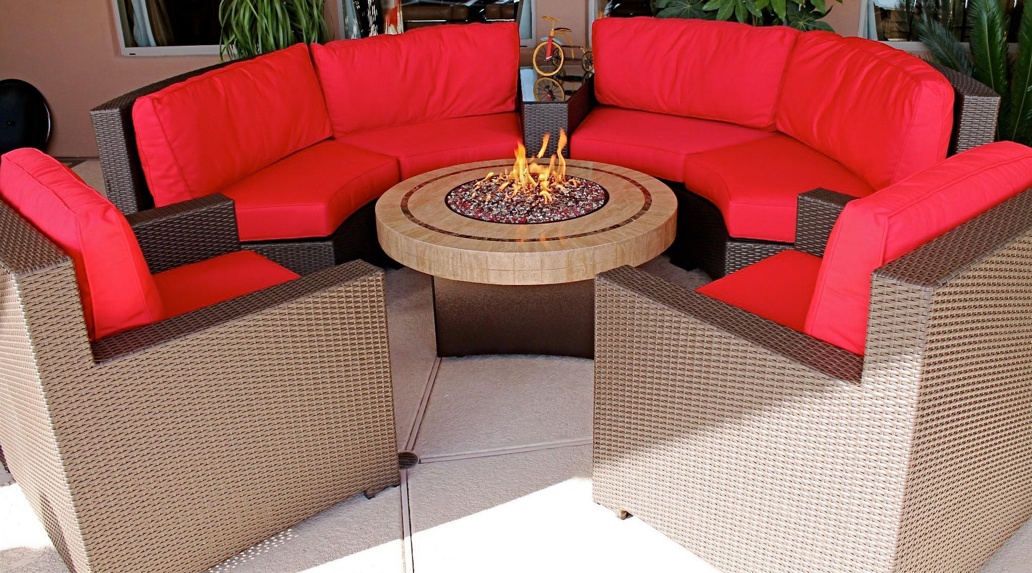 Tabletop Gas Fire Pit