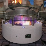 Tempered Glass for Fire Pit