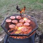 18 Wheeler Rim Fire Pit