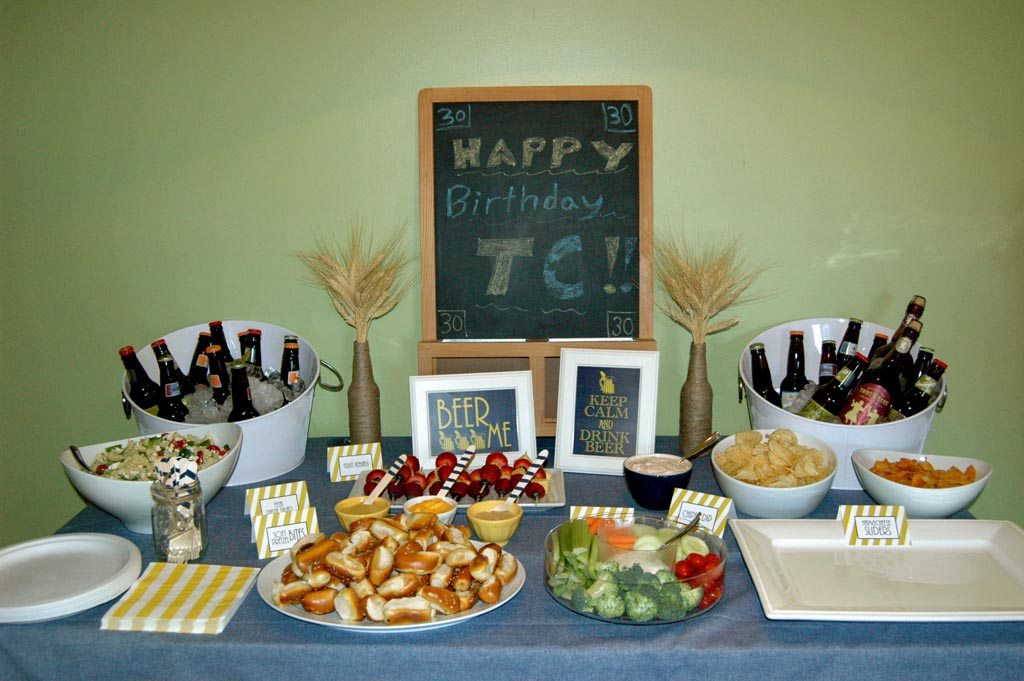 30th Birthday BBQ Party Ideas