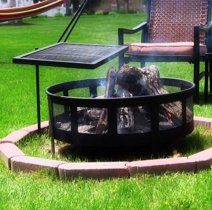 Wonderful Adjustable Fire Pit Grill Grate