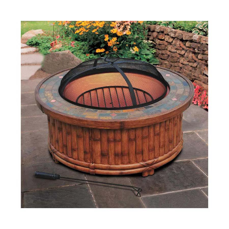 Adjustable Fire Pit Grill