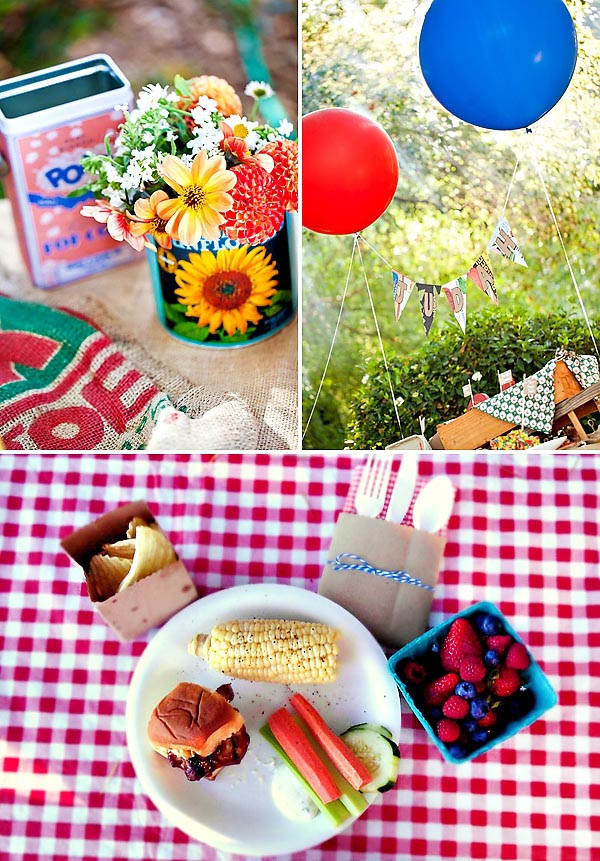 Backyard BBQ Birthday Party Ideas