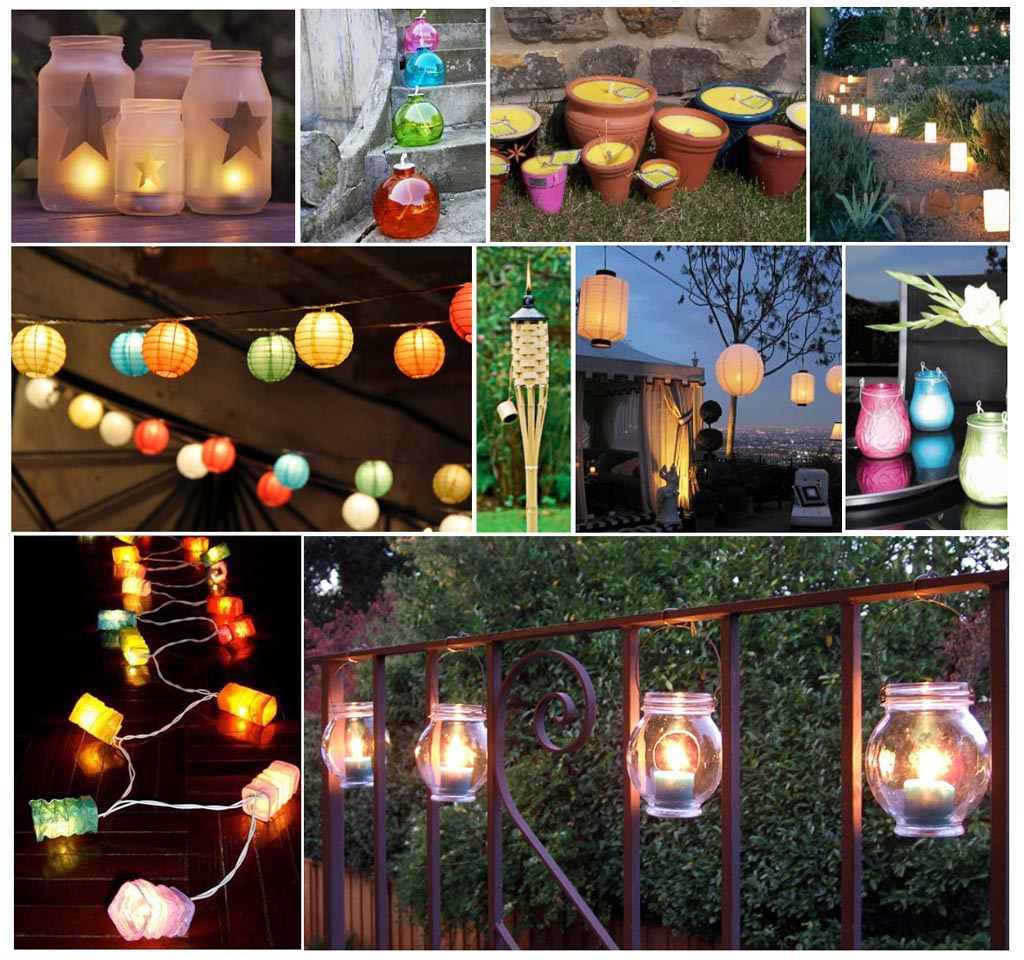 7 Diy Outdoor Lighting Ideas To Illuminate Your Summer: BBQ Birthday Party Decorations