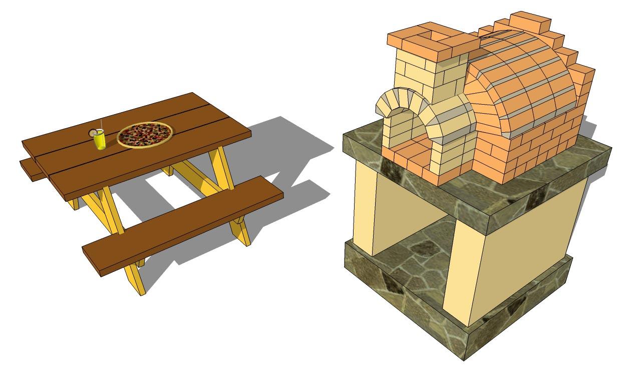 BBQ Grill Brick Plans
