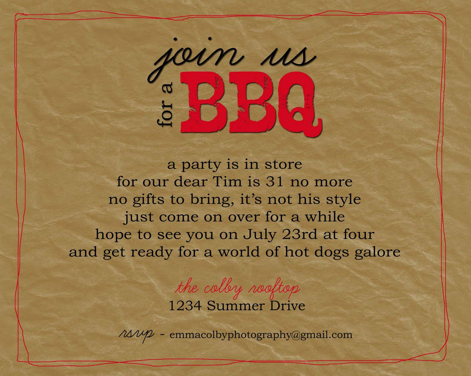 bbq party invitation wording fire pit design ideas. Black Bedroom Furniture Sets. Home Design Ideas