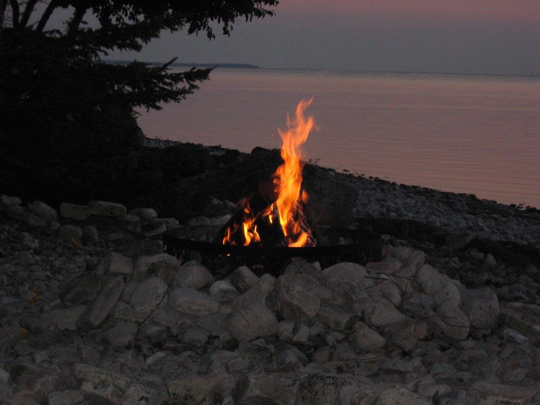 Beach Sand Fire Pit