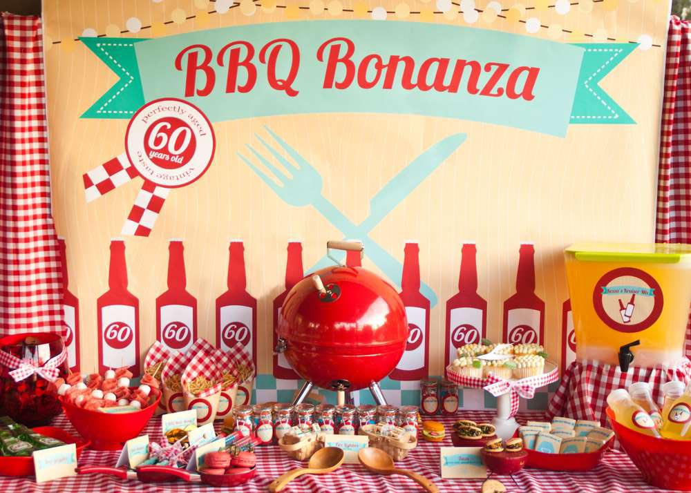 Create BBQ Birthday Party Easy