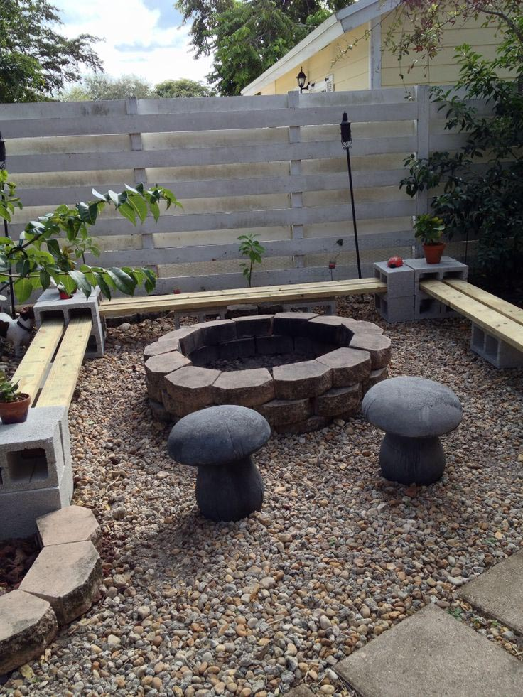 Block Fire Pit Ideas