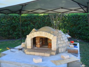 Brick BBQ and Pizza Oven Plans