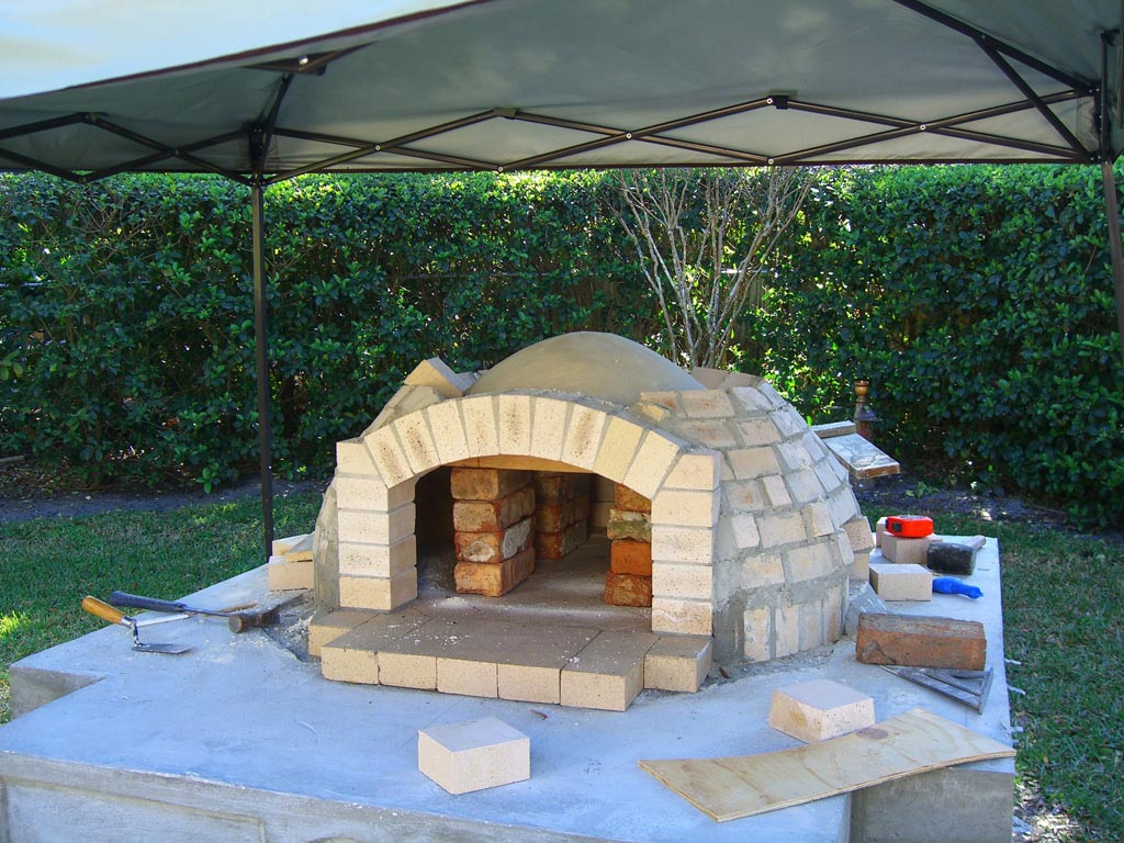 Home Wood Oven ~ Brick bbq and pizza oven plans fire pit design ideas