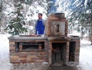 Brick BBQ and Smoker Plans