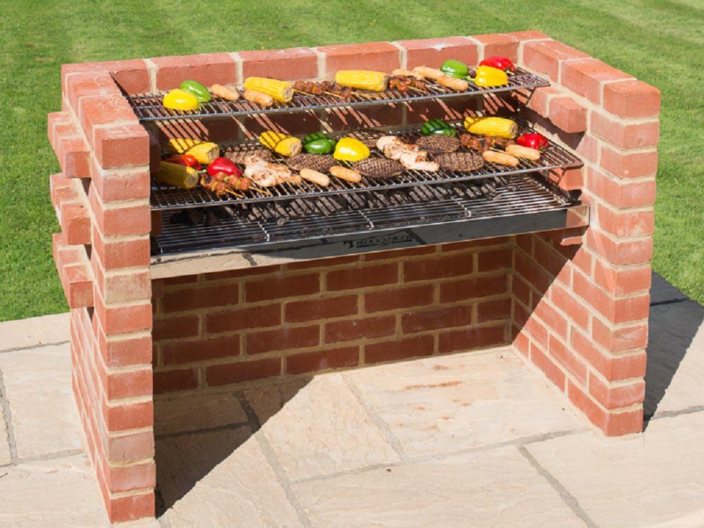 Brick BBQ Grill Kit