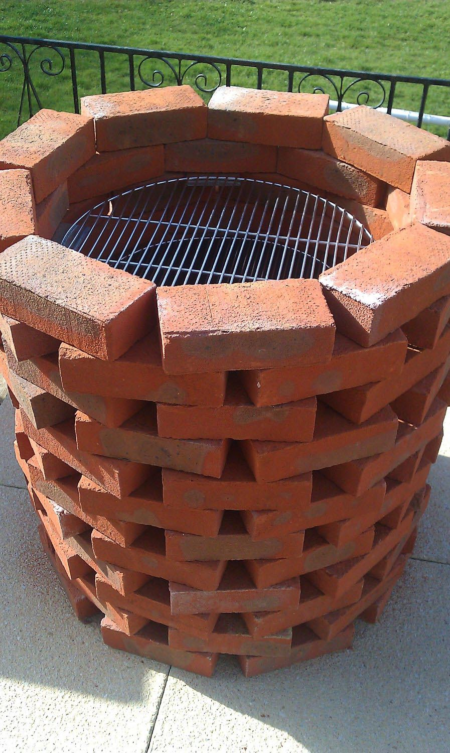 Brick bbq grill kits fire pit design ideas for Bbq grill designs and plans