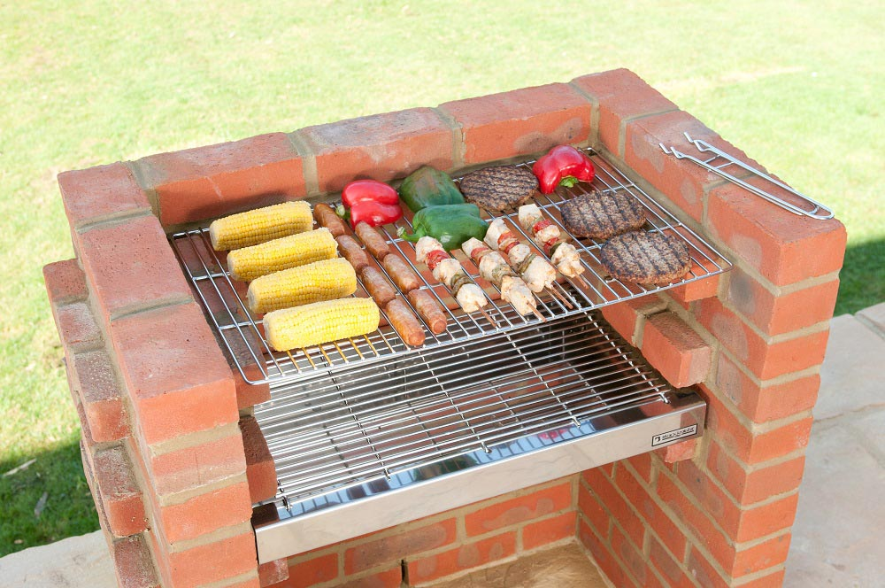 Brick bbq grill parts fire pit design ideas - Barbecue in casa ...