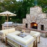 Brick BBQ Pit Design