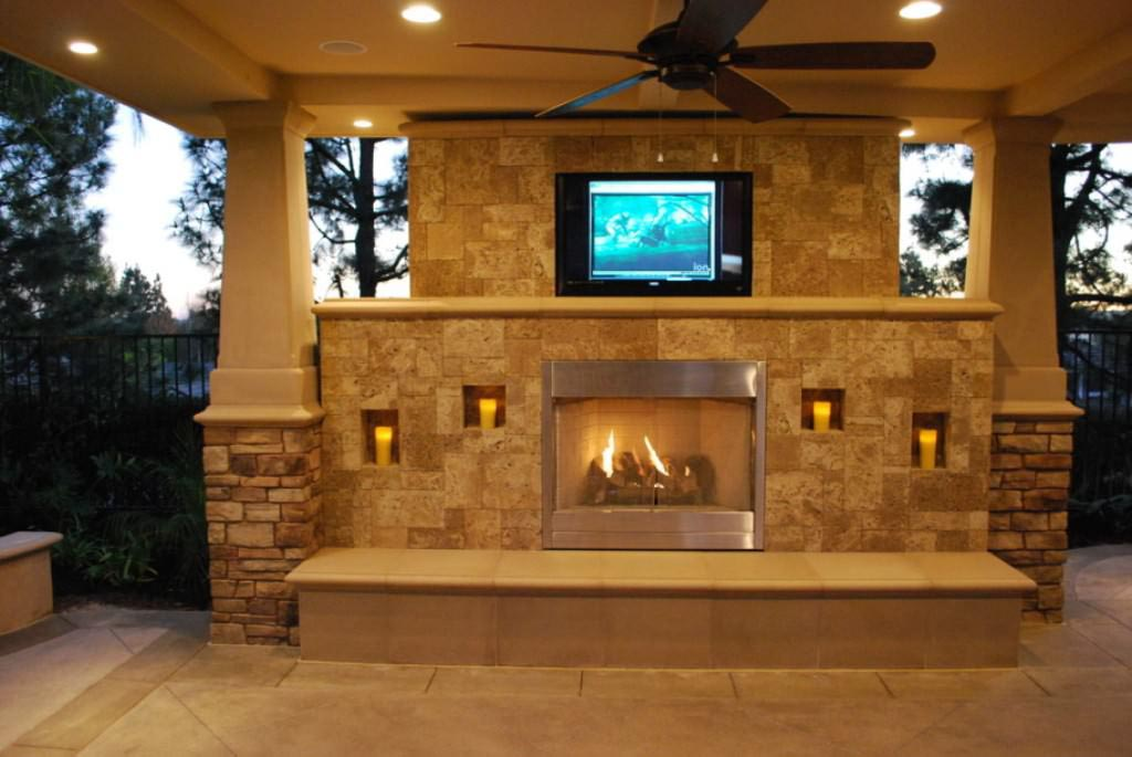Create brick bbq plans before building barbeque or grill fire pit design ideas - Build contemporary fireplace ideas ...