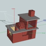 Brick BBQ Smoker Design