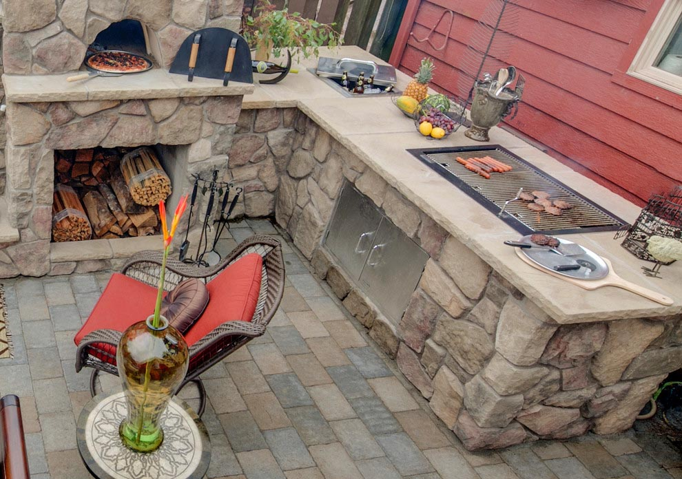 Brick Built BBQ Grills | Fire Pit Design Ideas