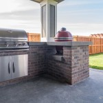 Brick Built BBQ Smoker