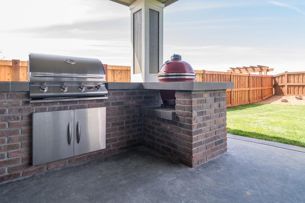 Brick Built Bbq Smoker Fire Pit Design Ideas