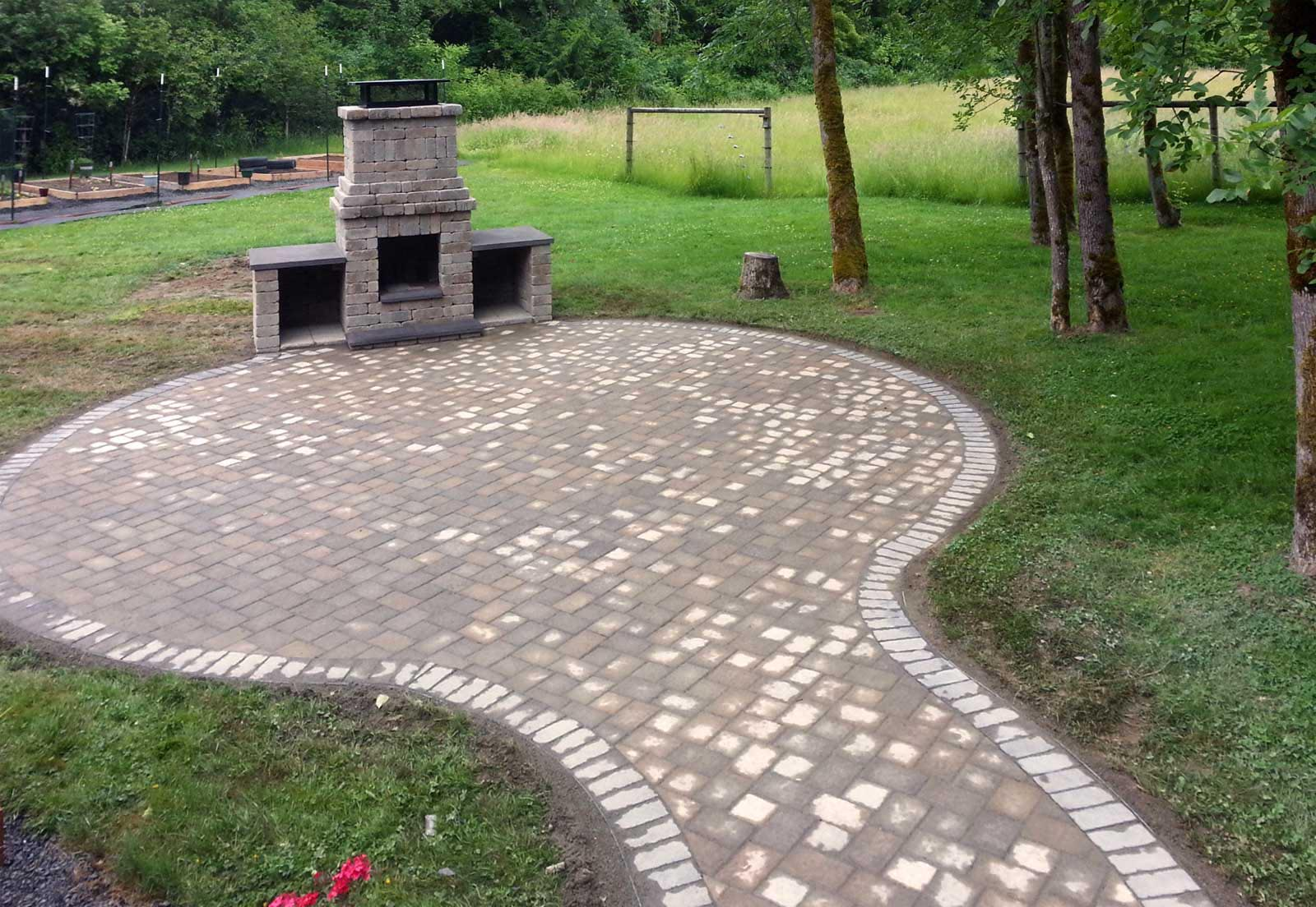 Brick Paver Fire Pit Fire Pit Design Ideas