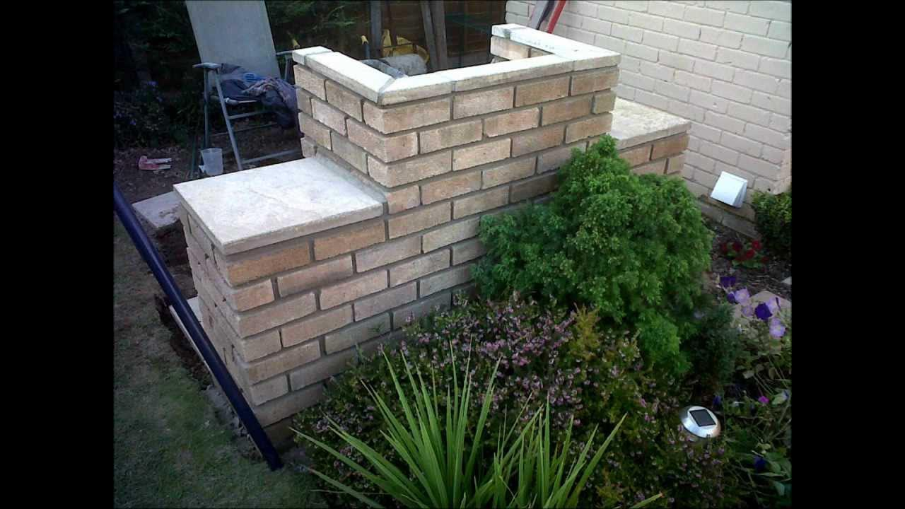 Build Brick BBQ Pit