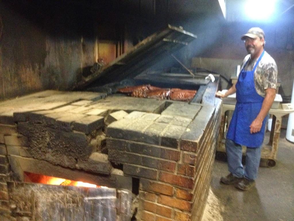 Build Brick BBQ Smoker