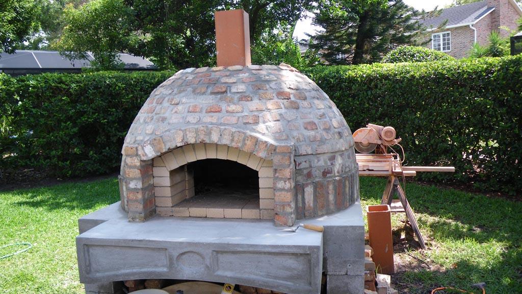 Building a Brick BBQ Grill